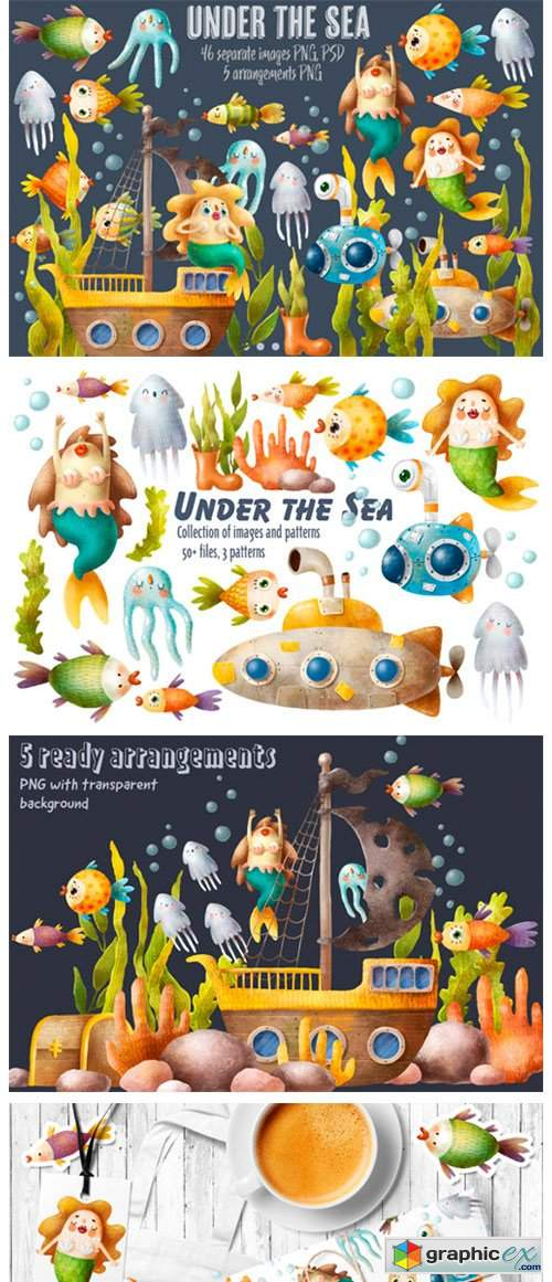 Undersea World Clipart