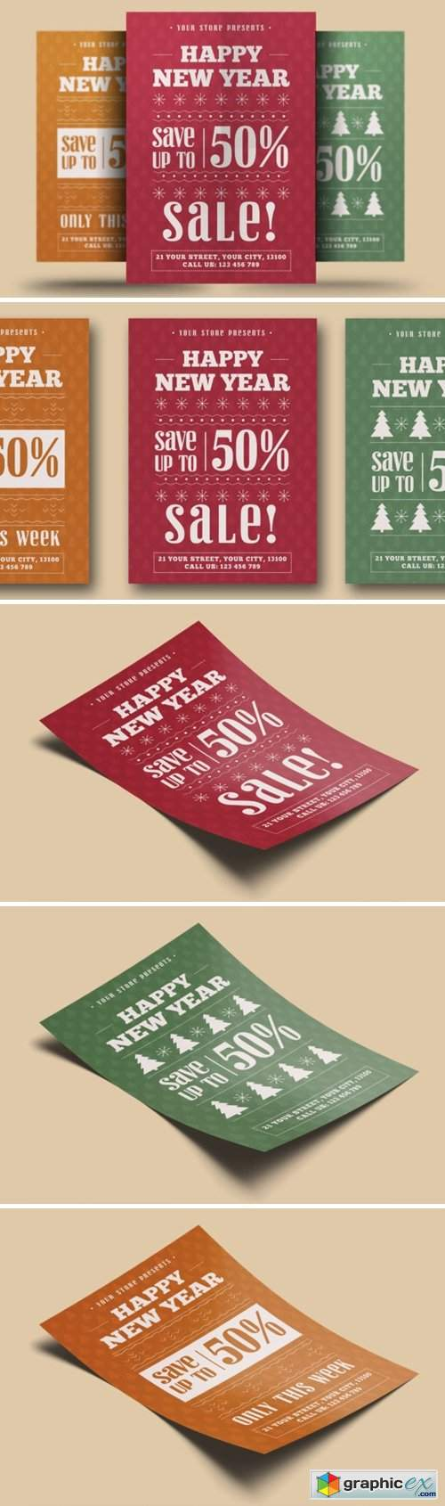 New Year Sale Flyer 2276219