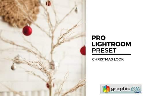 Christmas Look Lightroom Preset