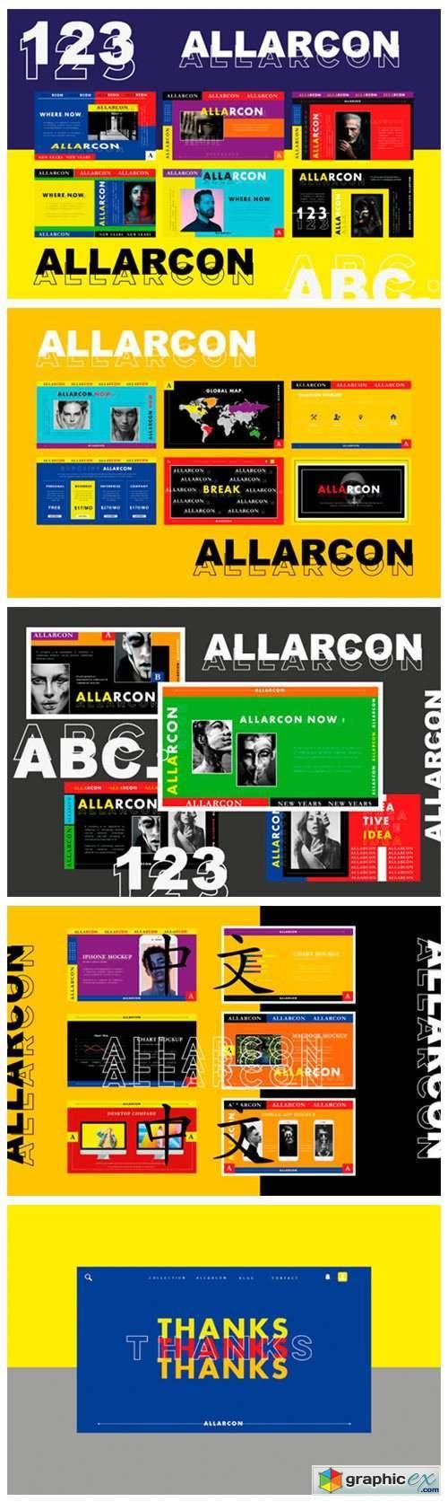Allarcon - Google Slides Template