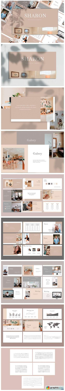 Sharon - PowerPoint Template