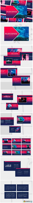 Musicbass - Google Slides Template