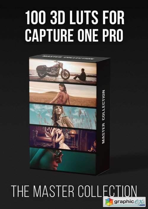 PRO EDU - Master Collection - 100 3D Lut Profiles For Capture One Pro