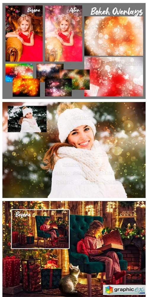 67 Photoshop Overlay Christmas Backdrop