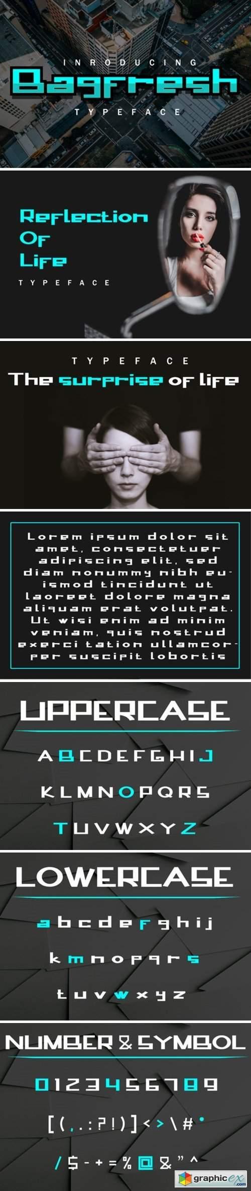 Bagfresh Font