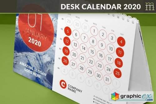 Desk Calendar 2020 (DC032-20)