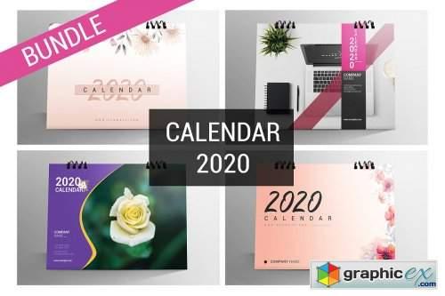 Desk Calendar Bundle 2020