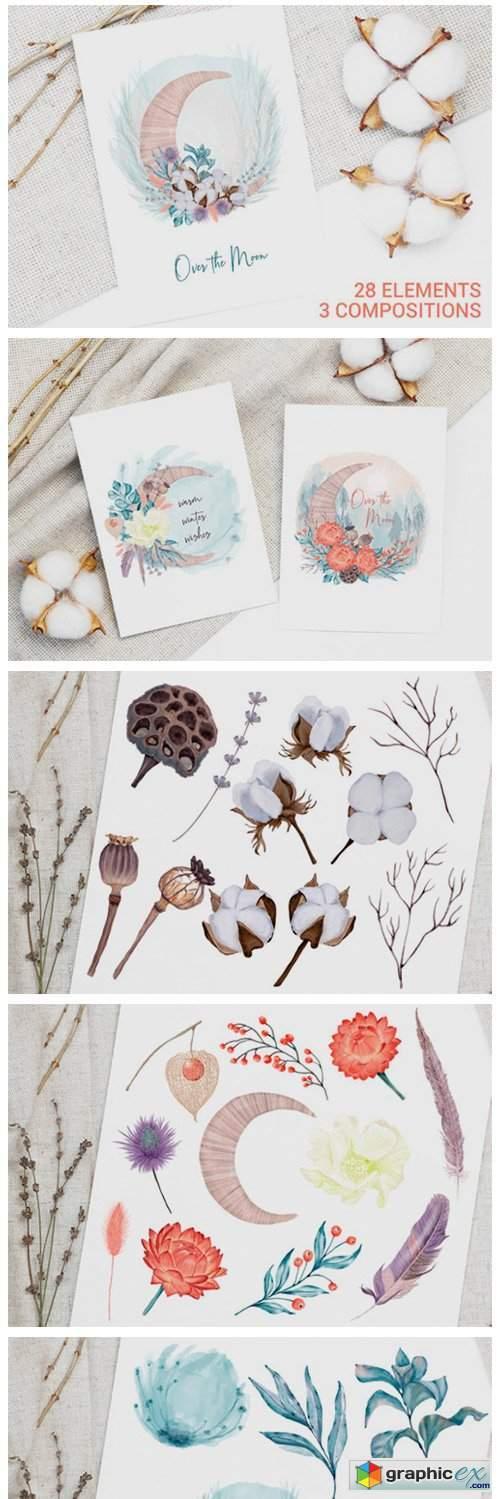 Winter Decoration Set
