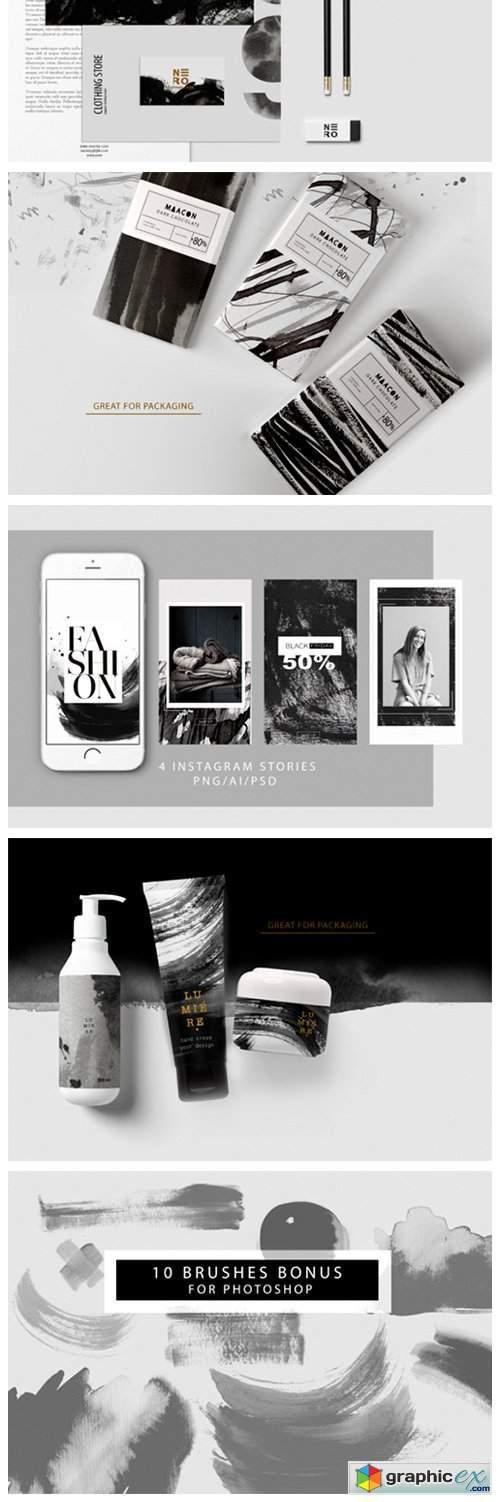 Black & White Backgrounds / Instagram