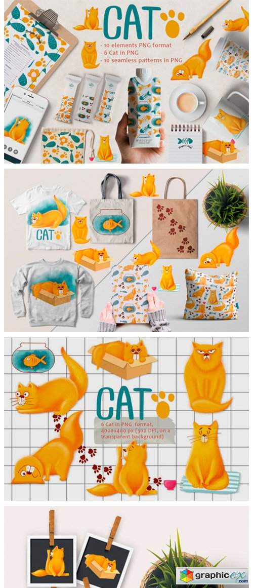 Cute Cat Patterns