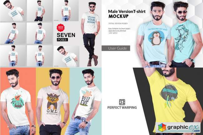 Tshirt Mockup Big Bundle
