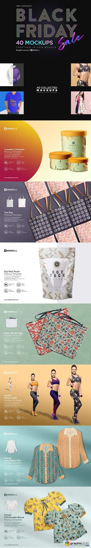 Black Friday Sale ~ Mockup Bundle