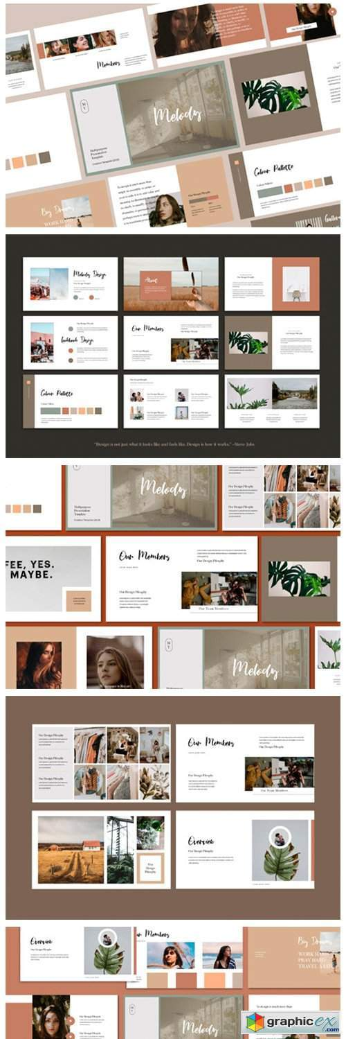 Melody - Keynote Presentation Template