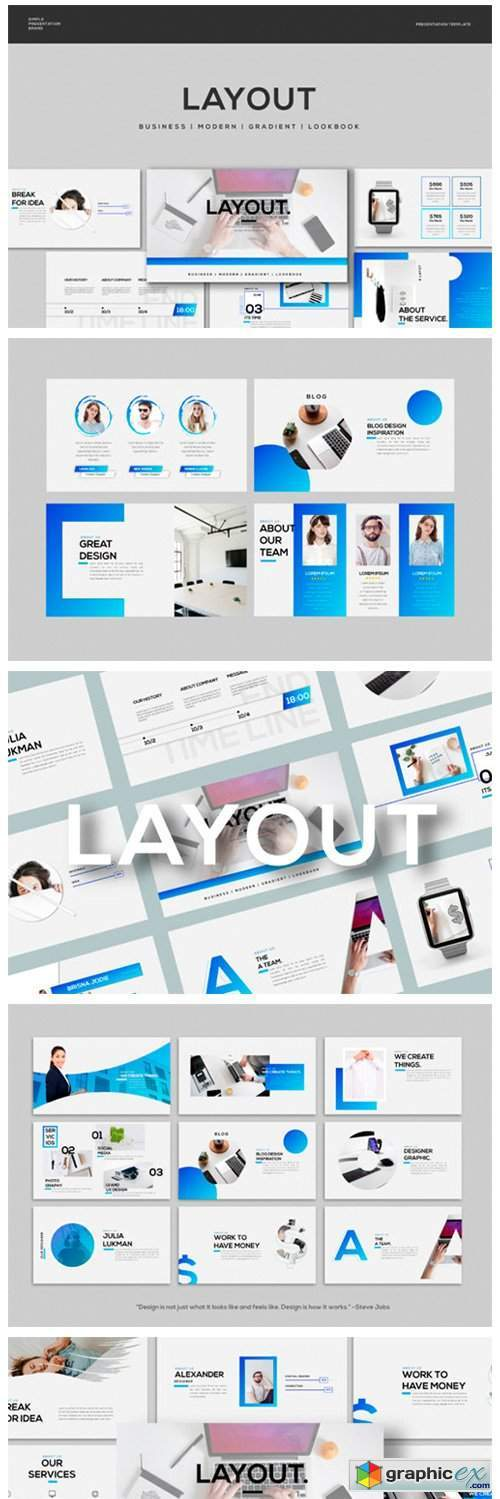 Layout - Keynote Template