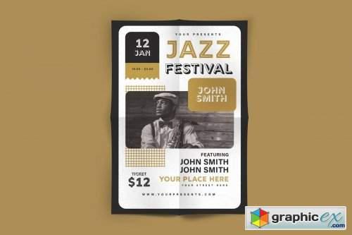 Jazz Festival Flyer 4451399