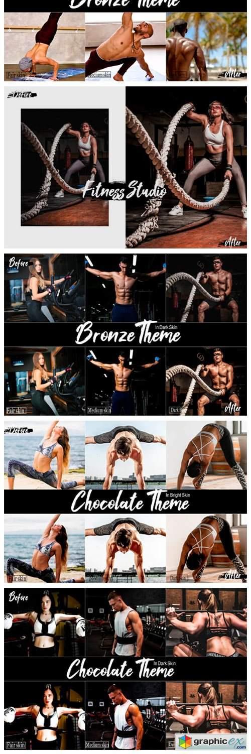 18 Fitness Studio Photoshop Actions