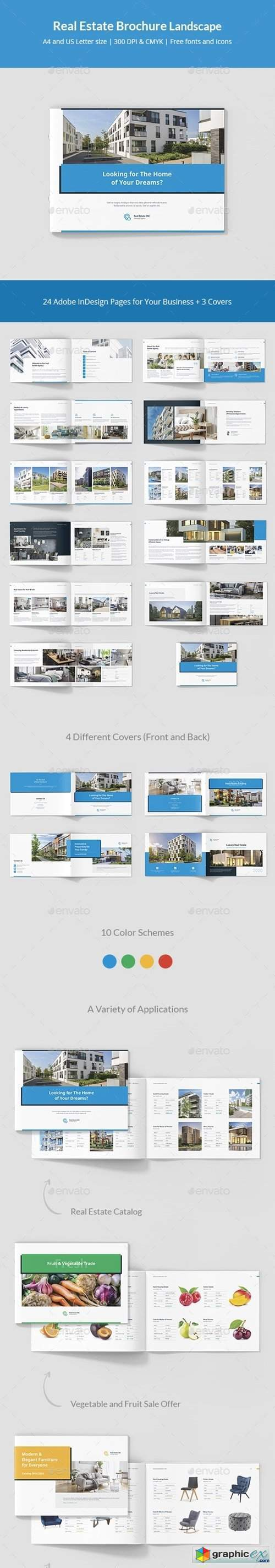 Real Estate Brochure Landscape