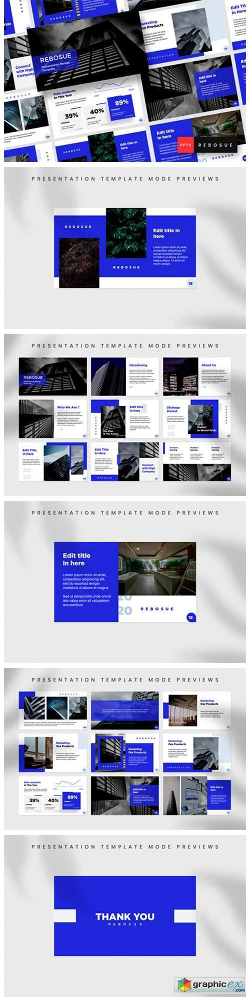 Presentation Design Template - Rebosue