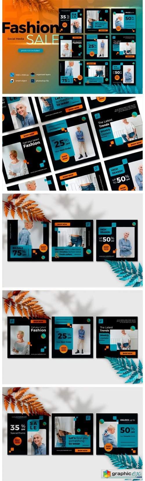Fashion Sale Social Media Lava Lush 2