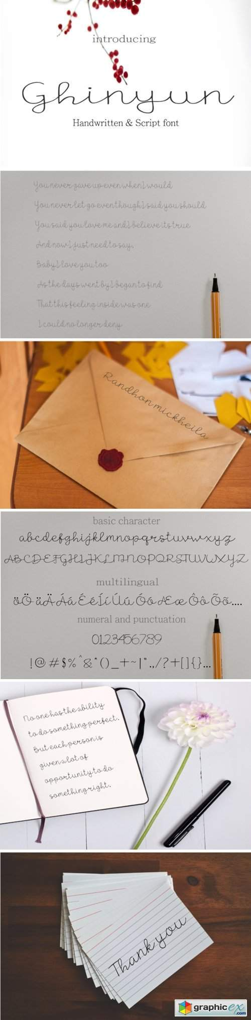 Ghinyun Font