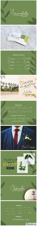 Minimalisty Font