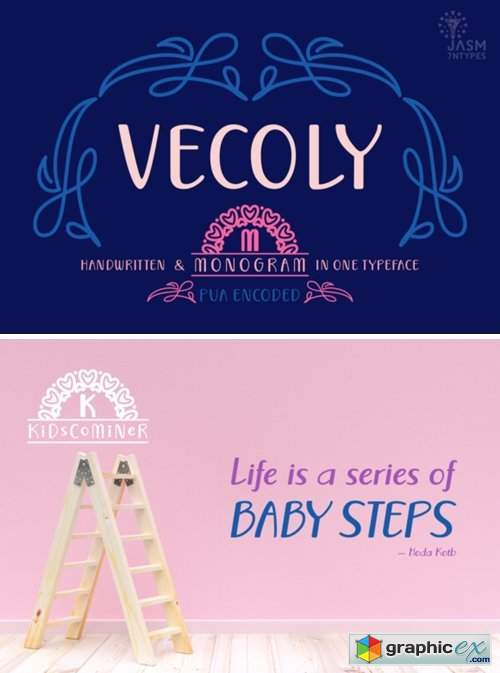 Vecoly Font