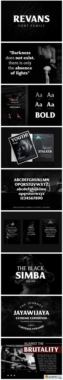 Revans Font