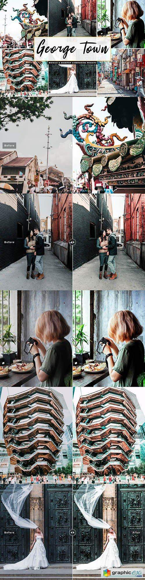 George Town Lightroom Presets Pack