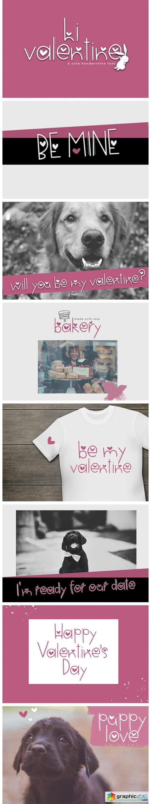 Hi Valentine Font