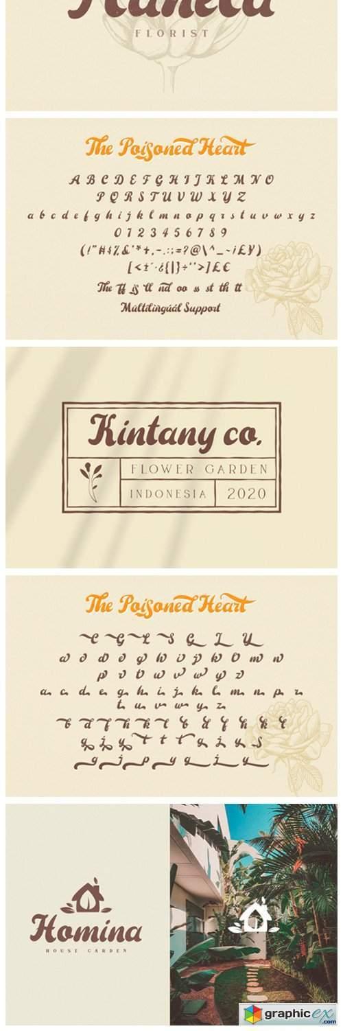 The Poisoned Heart Font