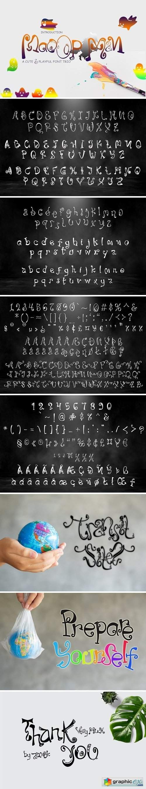 MaoopMan Font