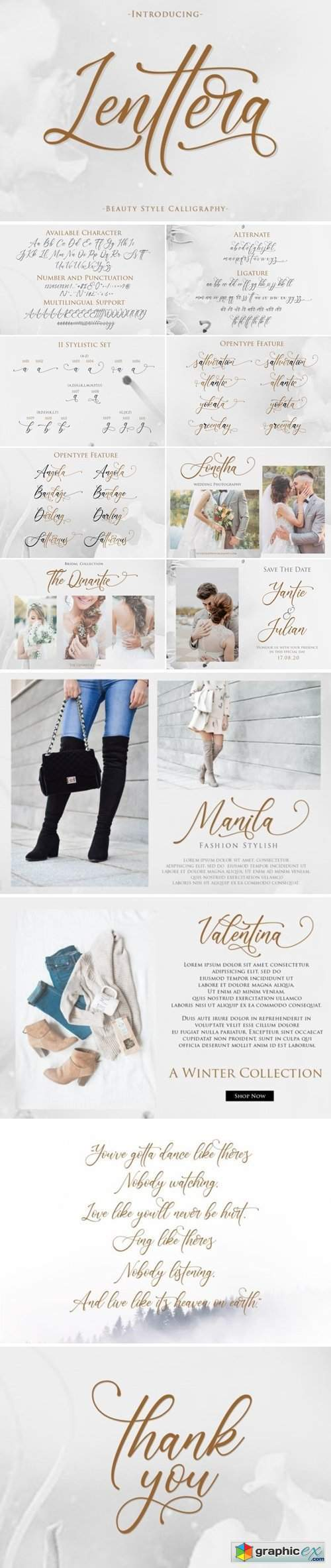Lenttera | Beauty Style Calligraphy