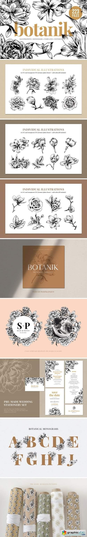 Floral & Botanical Illustration Bundle