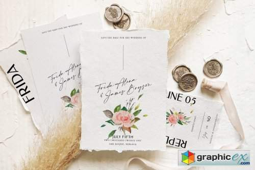 Rose & Foliage Wedding Suite