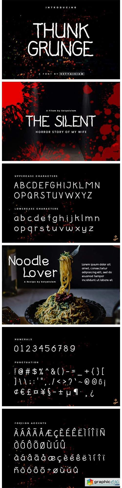 Thunk Grunge Font