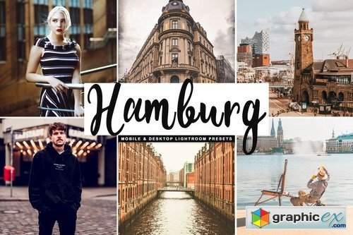 Hamburg Mobile & Desktop Lightroom Presets