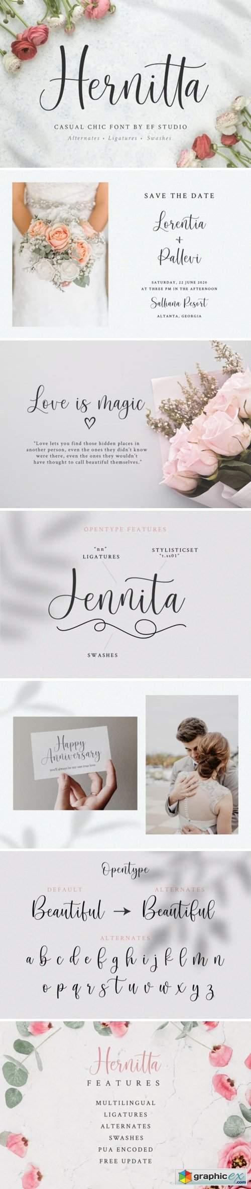 Hernitta Font