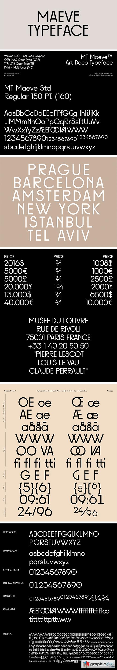 Maeve Typeface