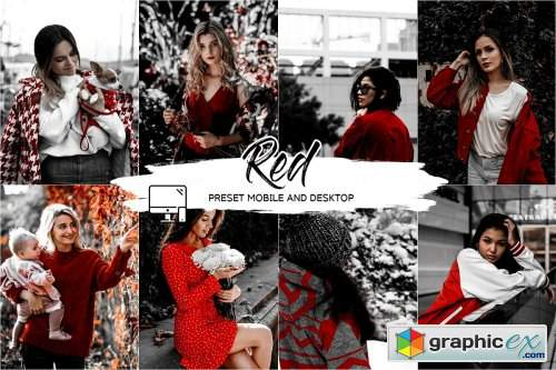 RED LIGHTROOM PRESETS