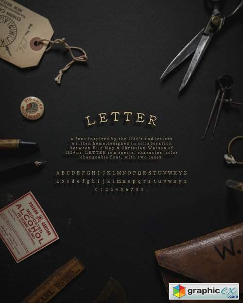 1924us x - Letter by Elle May