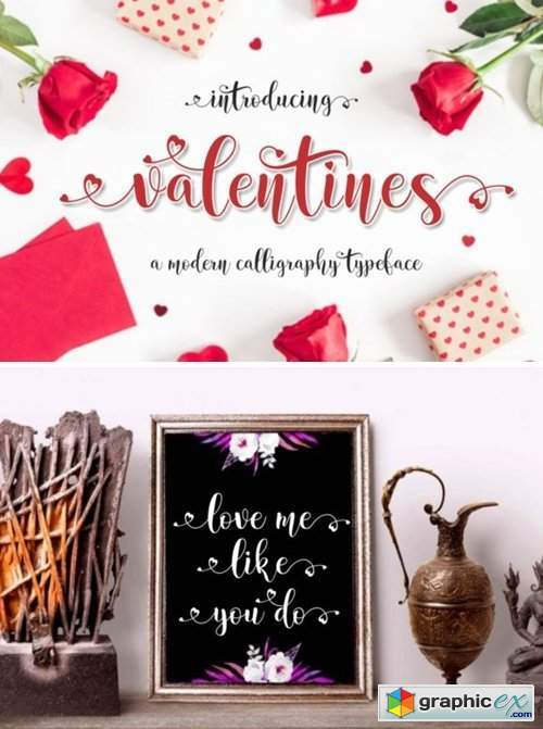 Valentines Font