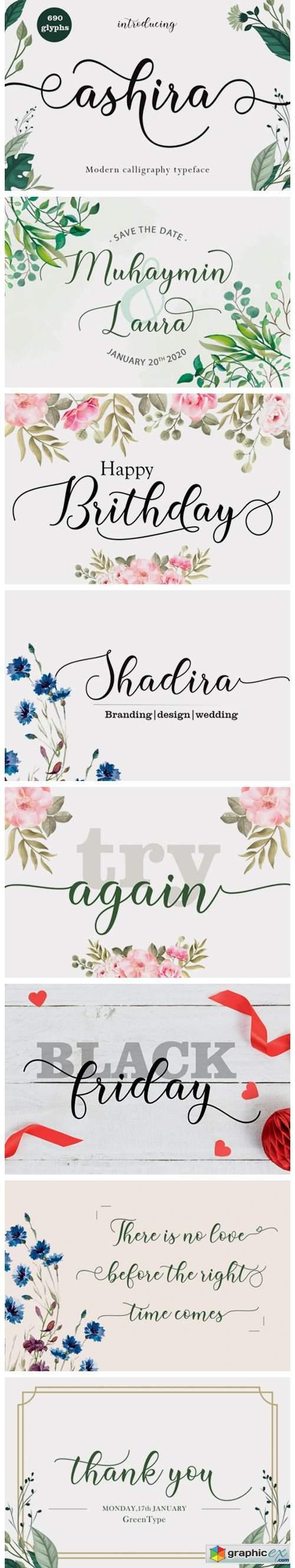 Ashira Font