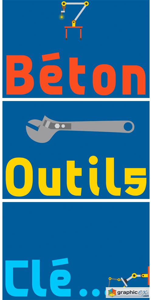 Beton Font