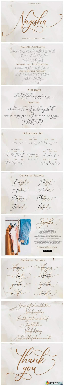 Nagisha Font