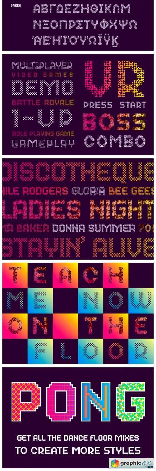 Dance Floor Mix 31 Font