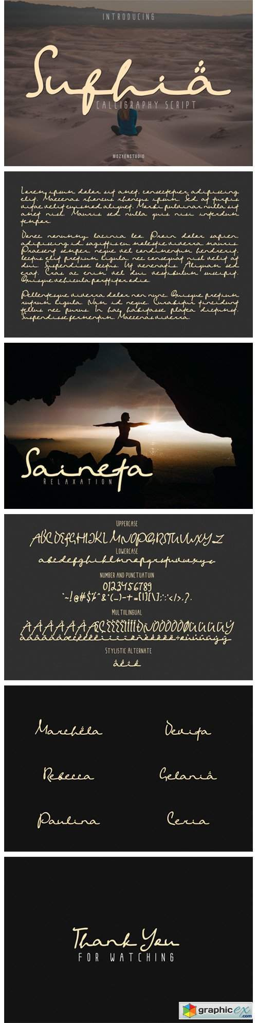 Sufhia Font