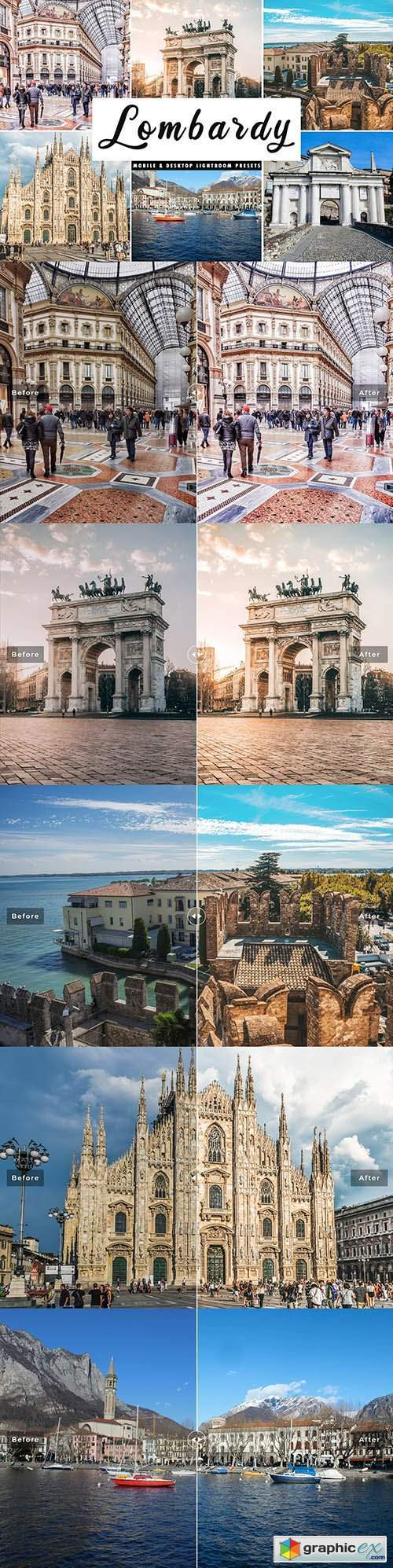 Lombardy Lightroom Presets Pack