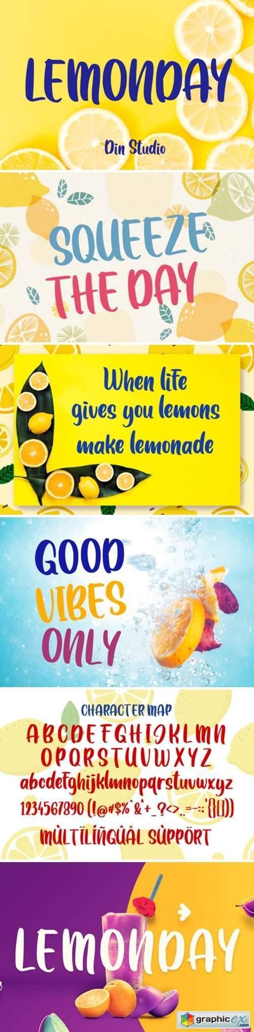 Lemonday Font