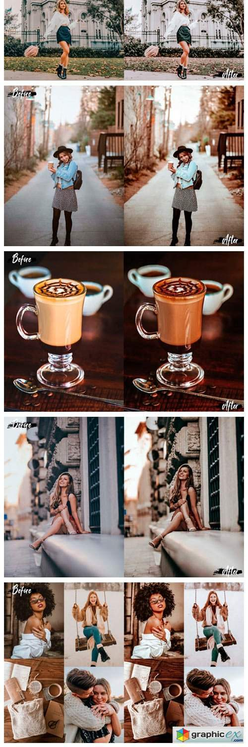 05 Double Coffee Photoshop Actions