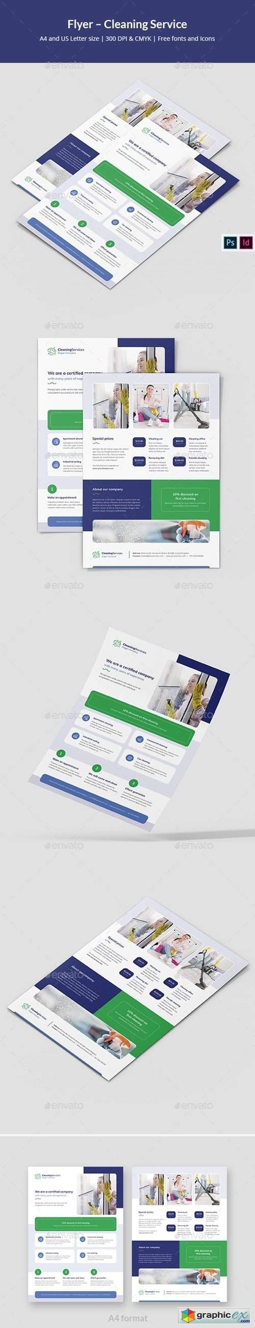 Flyer – Cleaning Service